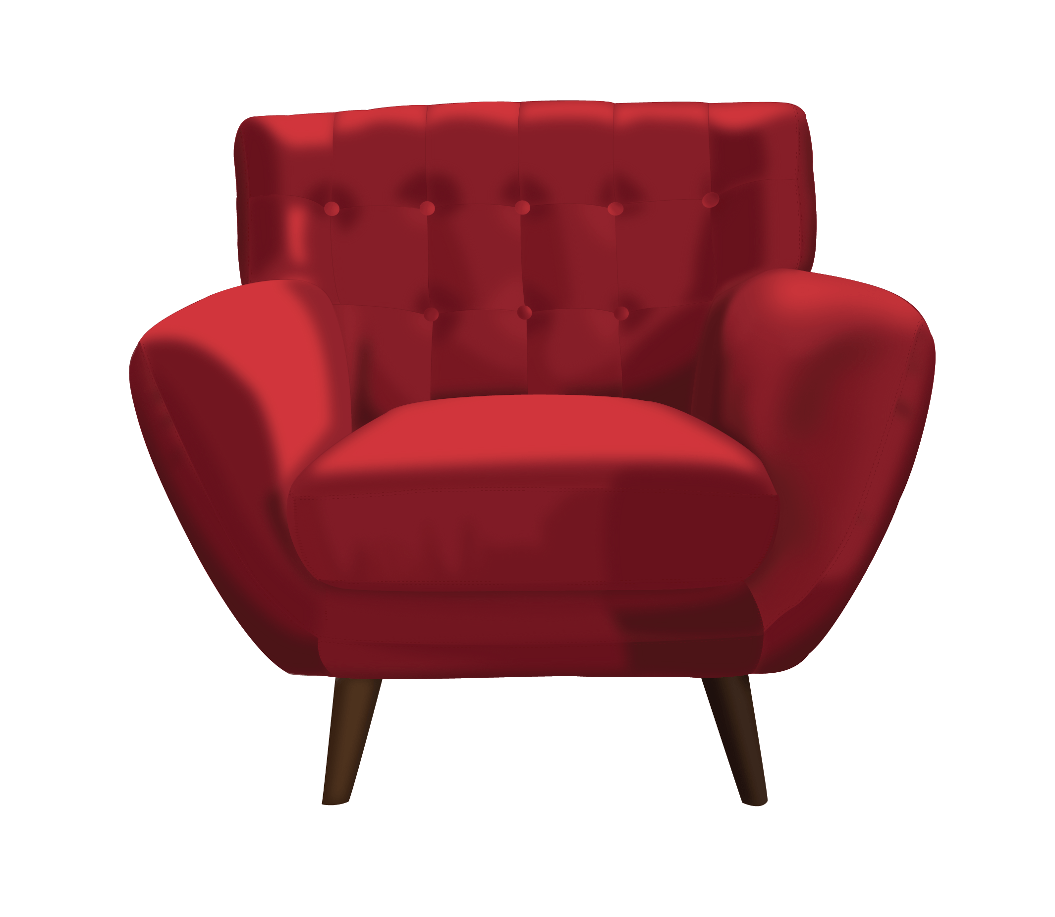 vectorization of a sofa chair